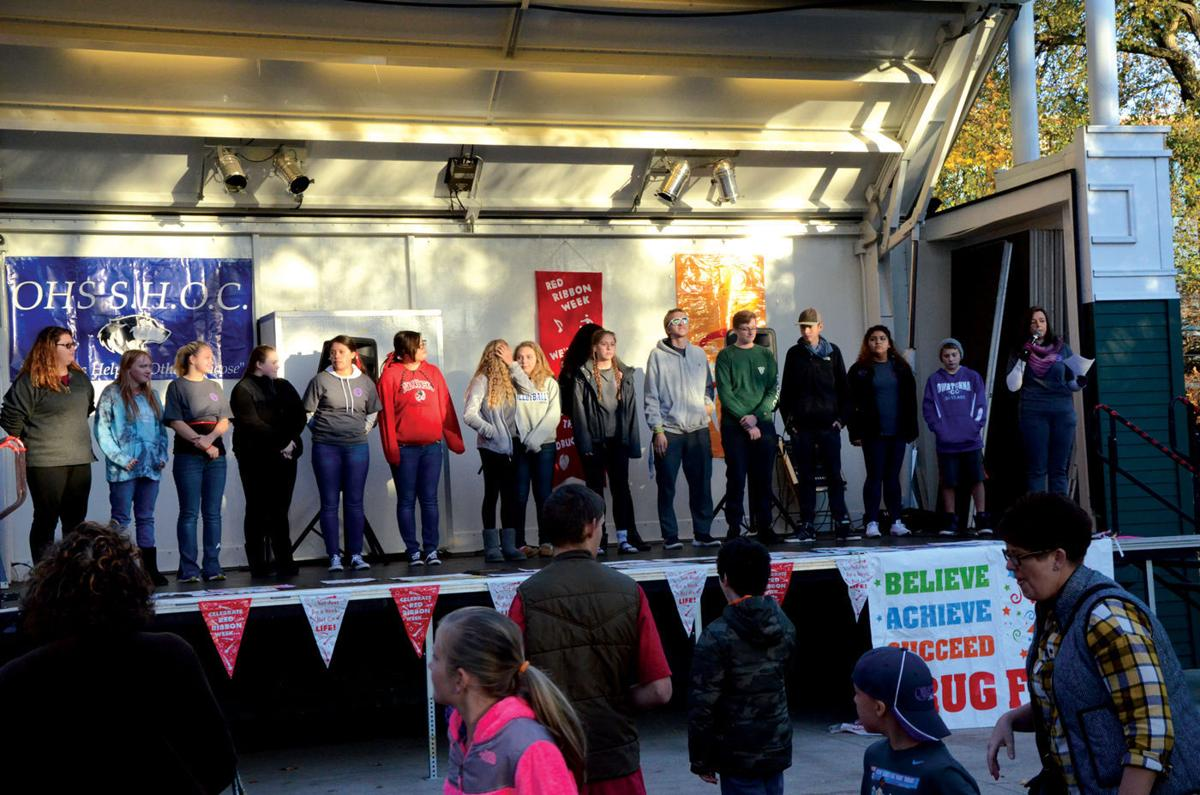 Owatonna kicks off Red Ribbon Week Monday evening in Central Park