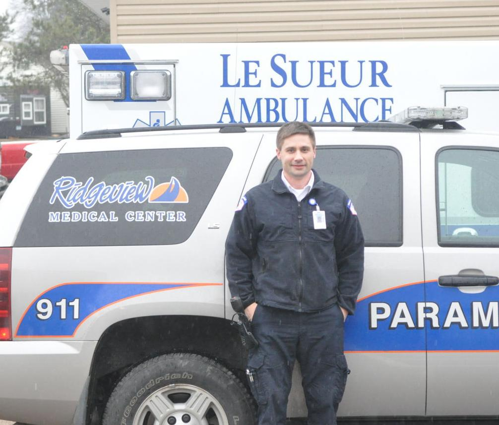 Going forward: Le Sueur's ambulance service to improve under new management