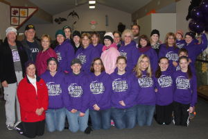 Margie's Voice family and volunteers