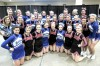 New Richland Hartland Ellendale Geneva cheer team and Owatonna High School cheerleaders compete in Minnesota State Cheerleading Competition