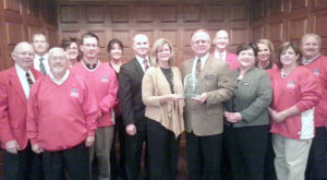 Chamber honors Dennis Funeral and Cremation with its Roots award