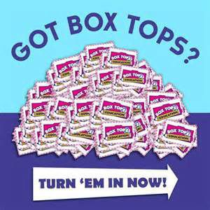 Now is prime time to turn in Box Tops for Education