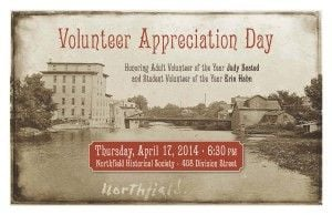 Northfield Historical Society to honor volunteers