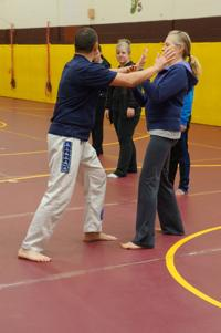 Northfielders learn self defense in new Community Services class