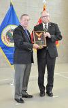 U.S. Congressman Tim Walz presented the Charles Dick Medal of Merit in Faribault