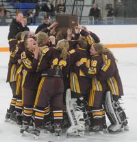 GALLERY: Northfield girls hockey section championship victory
