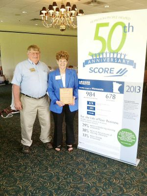 Diane Wilson Named South Central MN SCORE Mentor of the Year