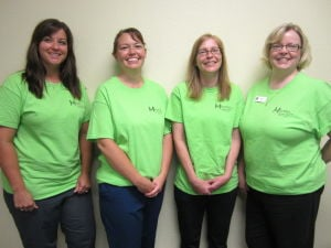 Waseca Family Dentistry employees volunteered at the Mission of Mercy event
