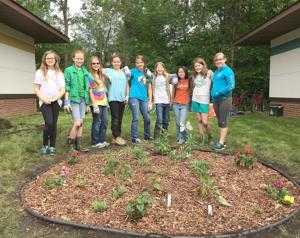 Girl Scout Junior Troop 25258 completes 'Bronze' project