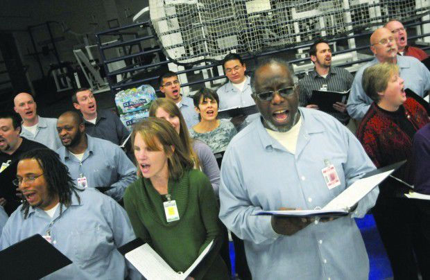 Faribault prison, Dundas church create unique choir collaboration