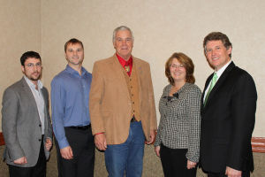 Local Farm Bureau leaders visited with Rep. Cornish