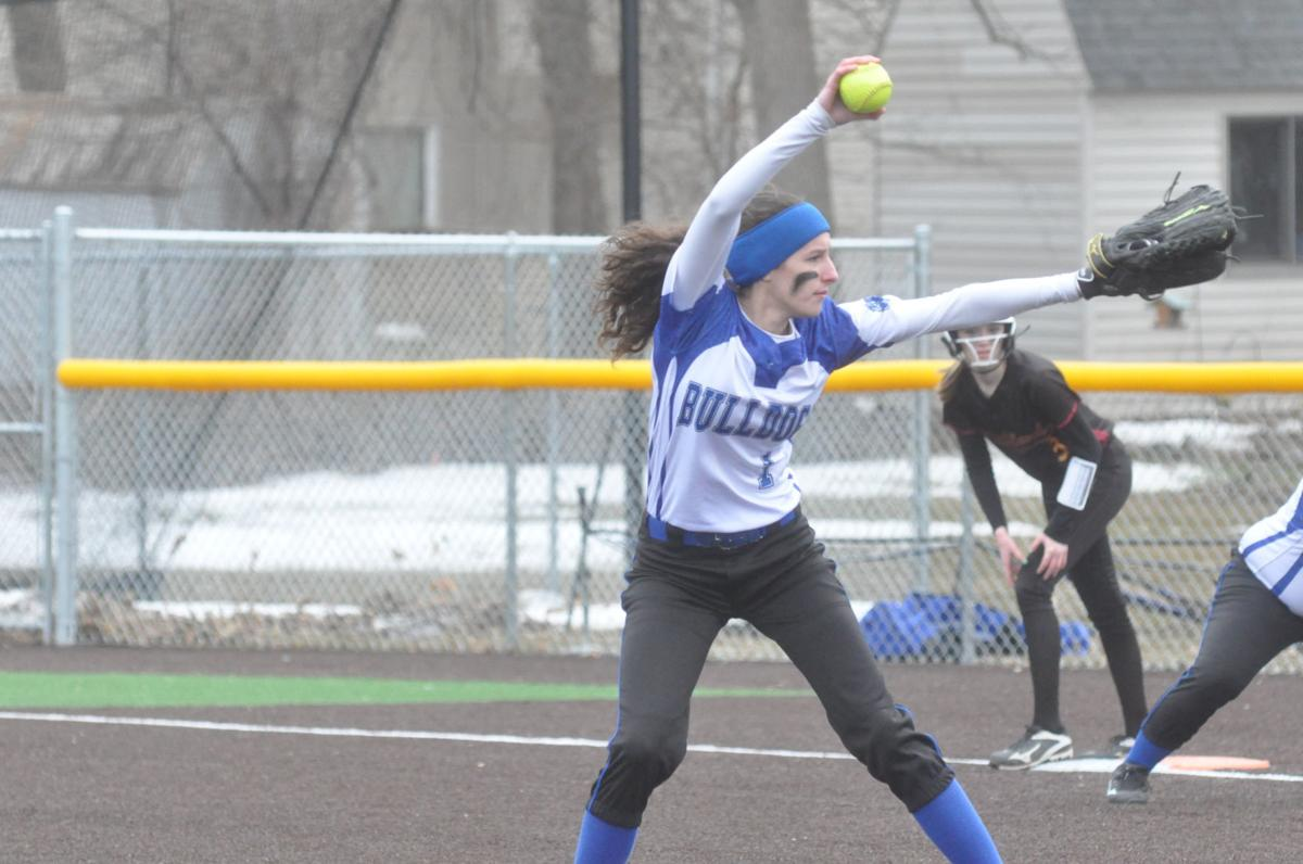 JWP softball team takes a big bite early, but falls, 9-8, to Medford
