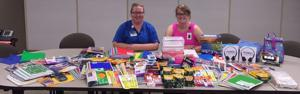 MVHC and Mayo Clinic Health System- Le Sueur School Supply Drive