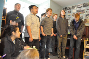 The Carleton College Singing Knights