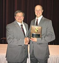 Raabolle wins NAFRS firefighter of the year; Etzell also honored