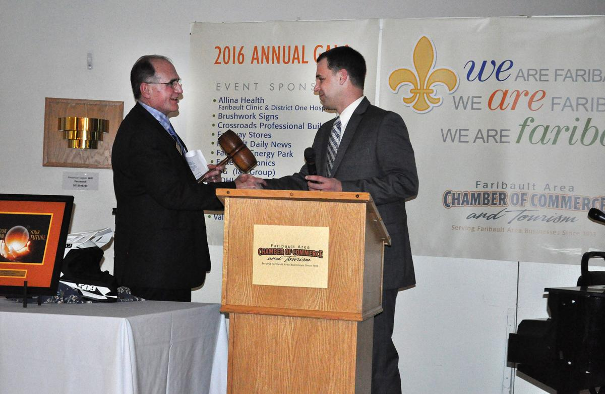 Annual Faribault Chamber gala sets tone for organization in 2016