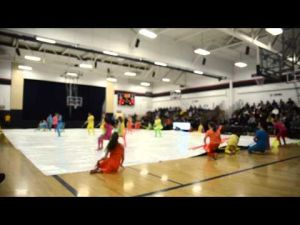 VIDEO: Collective Color Guard performs in St. Peter