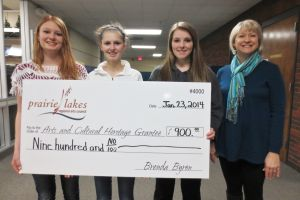 Waseca County students awarded arts scholarships