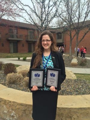 Zippel a South Central College Ag Student wins at Nationals
