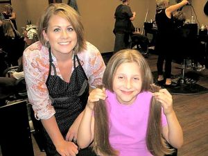 Locks of Love: Savannah Miller of Owatonna