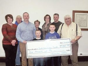 Owatonna Parks and Recreation Scholarship Fund receives donation