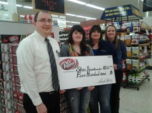 Waseca Hy-Vee awards resident money toward college