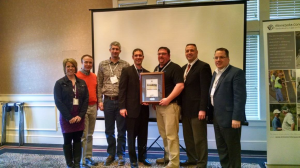 City of Northfield staff receive Minnesota Concrete Council Award