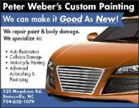 Peter Weber's Custom Painting & Artworks
