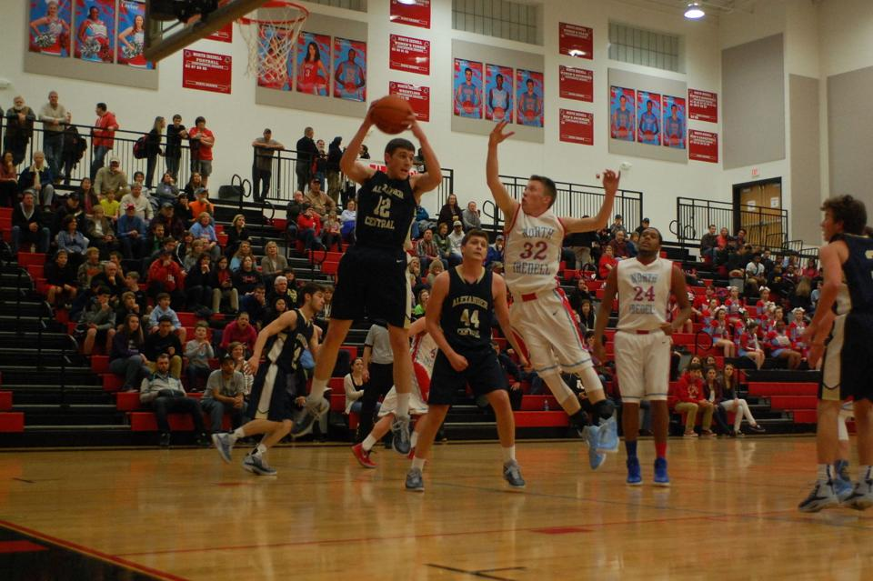 Boys Basketball Alexander Central Shuts Down North Iredell Sports