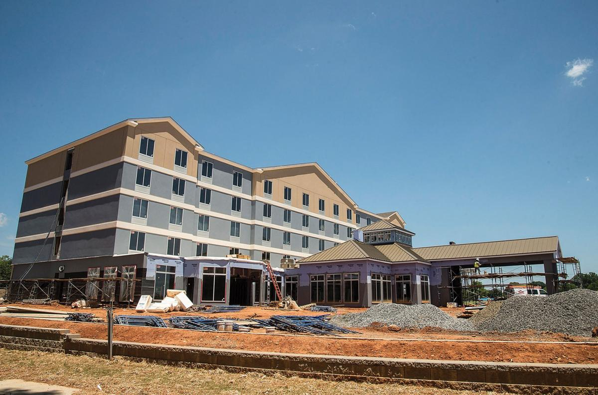 Hotel Store Restaurant Near Completion In Statesville