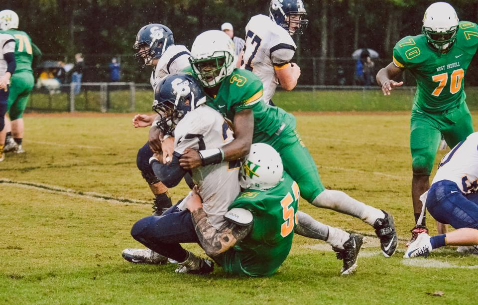 Prep Football Hallman South Iredell Destroy West Iredell 51 0 Sports