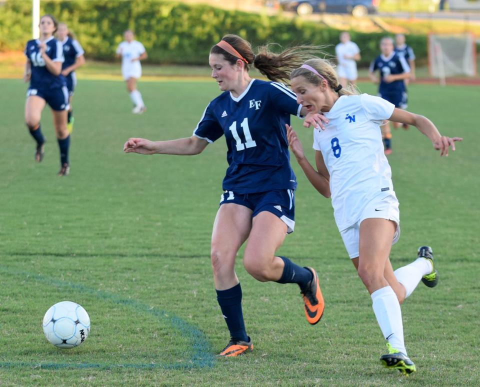 Girls Soccer Lake Norman Has No Trouble With East Forsyth Wins 3 0 In Quarterfinals