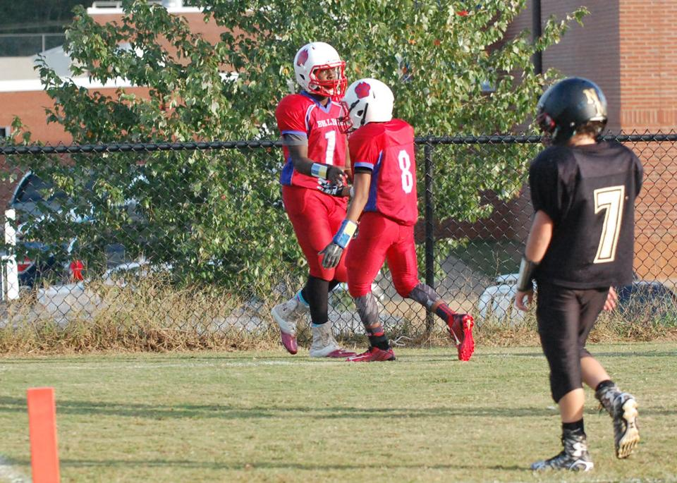 Statesville Middle Vs North Iredell Middle Football Sports