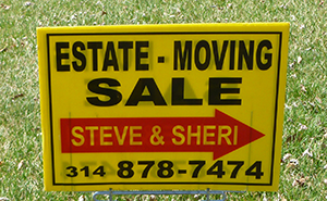 ESTATE SALES BY STEVE & SHERI