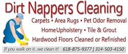 Dirt Nappers Cleaning