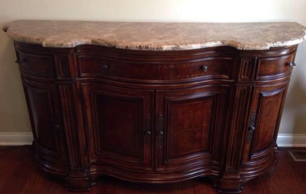 Foyer Table With Marble Top : Ad marble top foyer table credenza sideboard ads