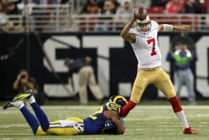 Colin Kaepernick will start again for 49ers
