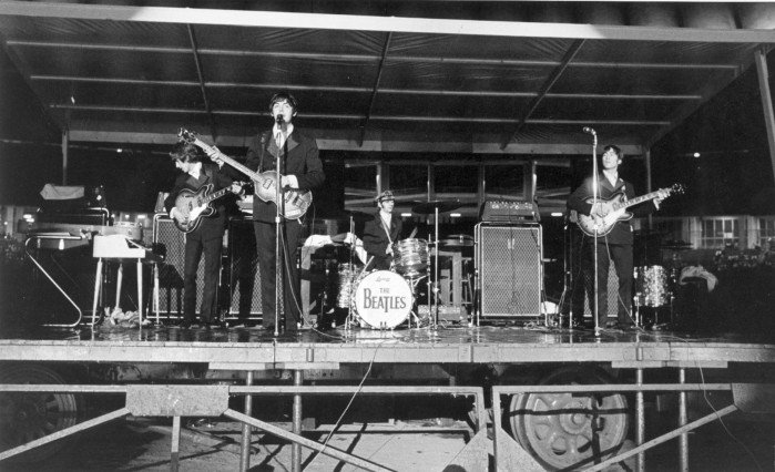 A look back • Beatle-mania hits Busch Stadium in 1966 : News