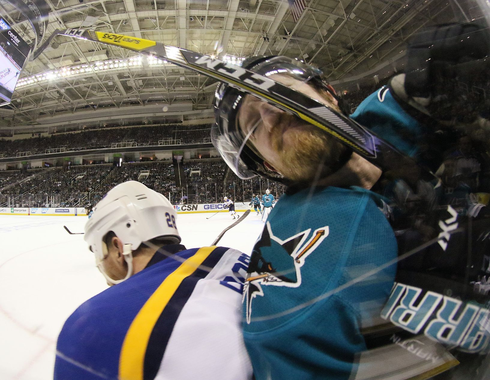 Blues Might Be Without Backes, Fabbri For Pivotal Game 5