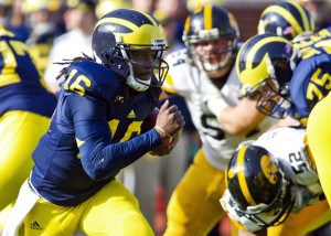 Michigan QB now an NFL wide receiver prospect