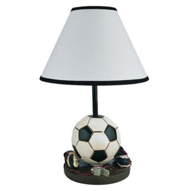 Soccer Ball Lamp Australia: High & Low: Soccer Ball Desk Lamp : Lifestyles