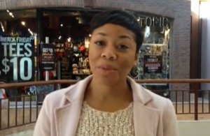 Video: Black Friday shopper talks about small crowds
