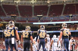 Anybody home? Not so far for Rams