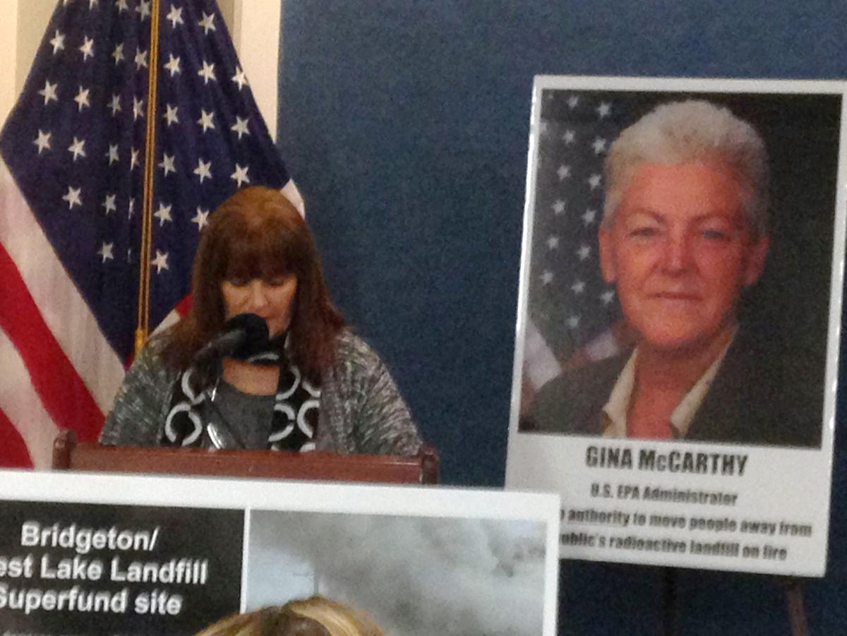West Lake Landfill group holds DC Press Conference
