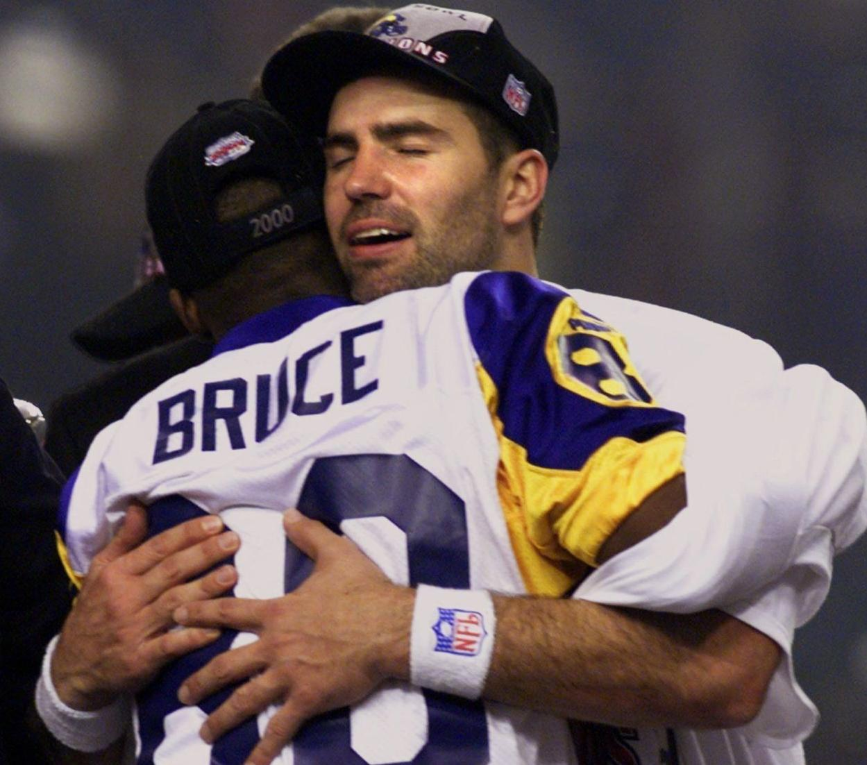 Isaac Bruce Organizes 'Legends of the Dome' Game