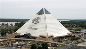 Memphis' Pyramid opens today as Bass Pro superstore and hotel