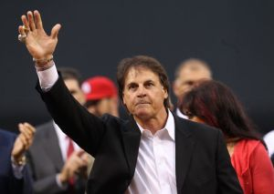 Tony La Russa Number Retirement Ceremony