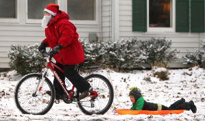 First snow of season: fun for some, frigid temps for all