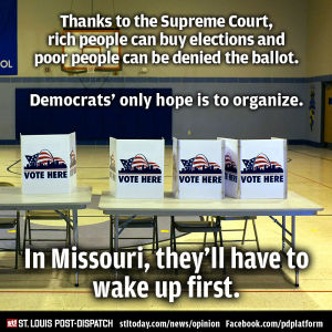 Editorial: Voter ID and Missouri Democrats' electile dysfunction
