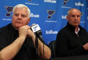 Hitchcock has 'unfinished business' with Blues